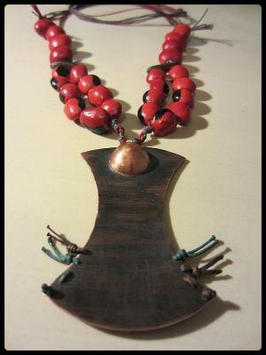 ExoticThai copper,tropical seeds,waxed thread  | myartshop