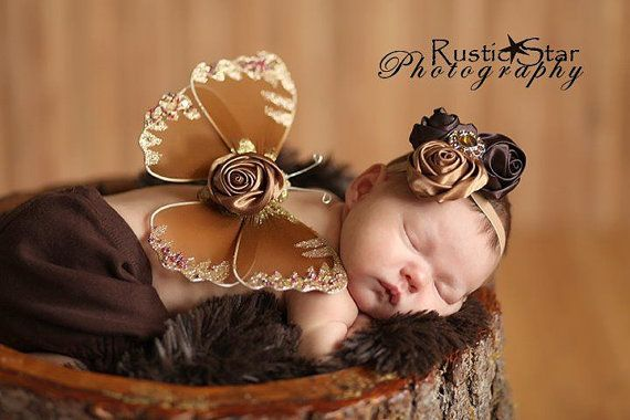 must do this for my baby girlCopper Brown, Brown Butterflies, Flower Bling, Newborns Baby Photos, Photo Props, Butterflies Wings, Newborn Baby Photos, Butterfly Wings, Photos Props