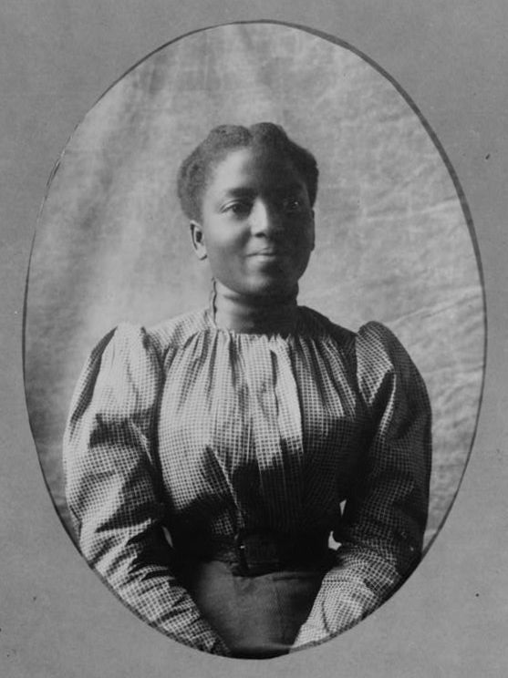 Famous African American Women | African American woman, about 1899-1900. From album compiled by W.E.B ...