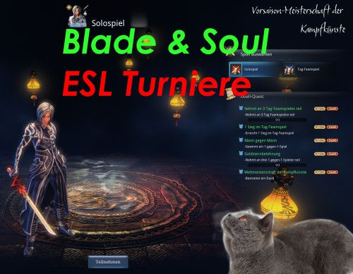 Blade and Soul ESL Turniere  1on1 Community Cup Europe