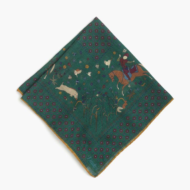 Mens Cotton Pocket Square - Shibori III by VIDA VIDA BJZRX