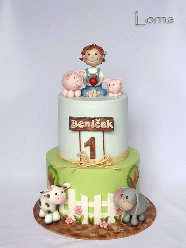 1000+ ideas about Farm Cake on Pinterest Farm Animal ...
