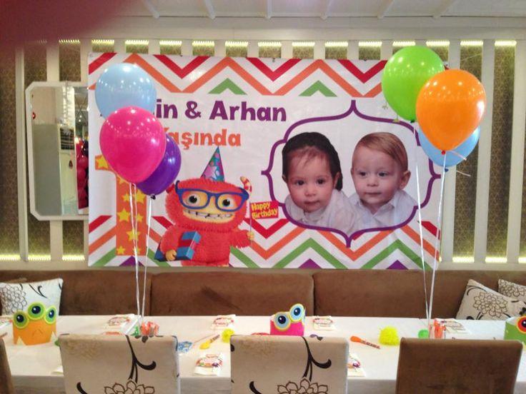 Armin & Arhan 1 yaş doğumgünü/www.mynacatering.com
