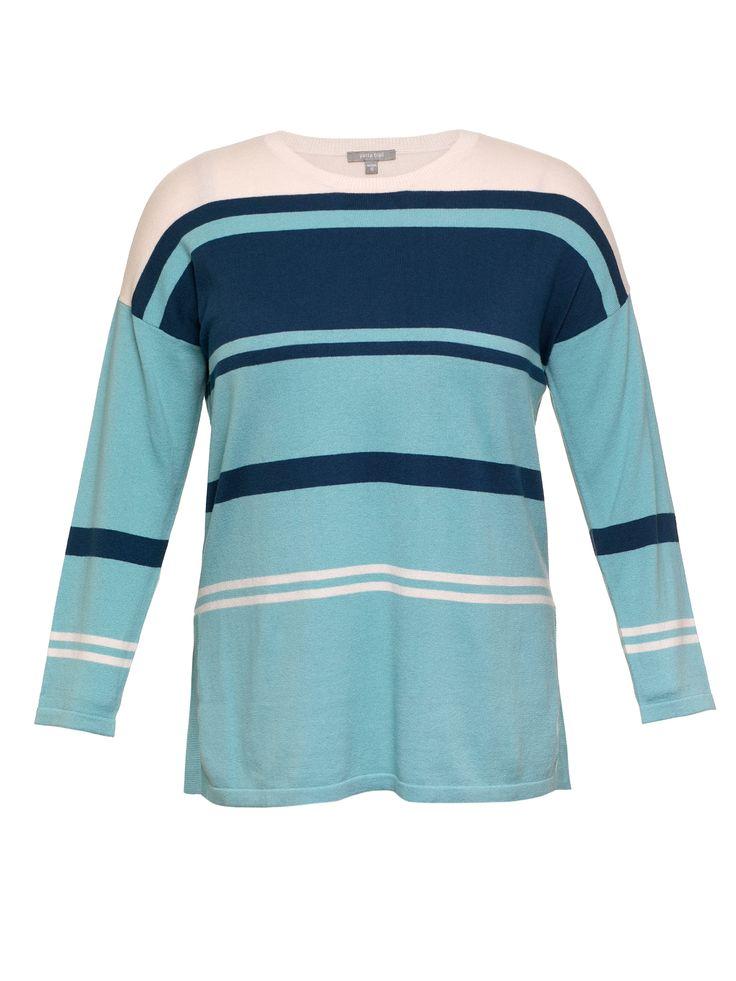 L/s Stripe Knit Jumper