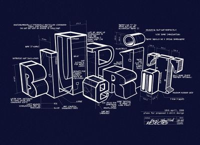 27 best blueprint images on pinterest technical illustration designarchitecture blueprint art print malvernweather Image collections