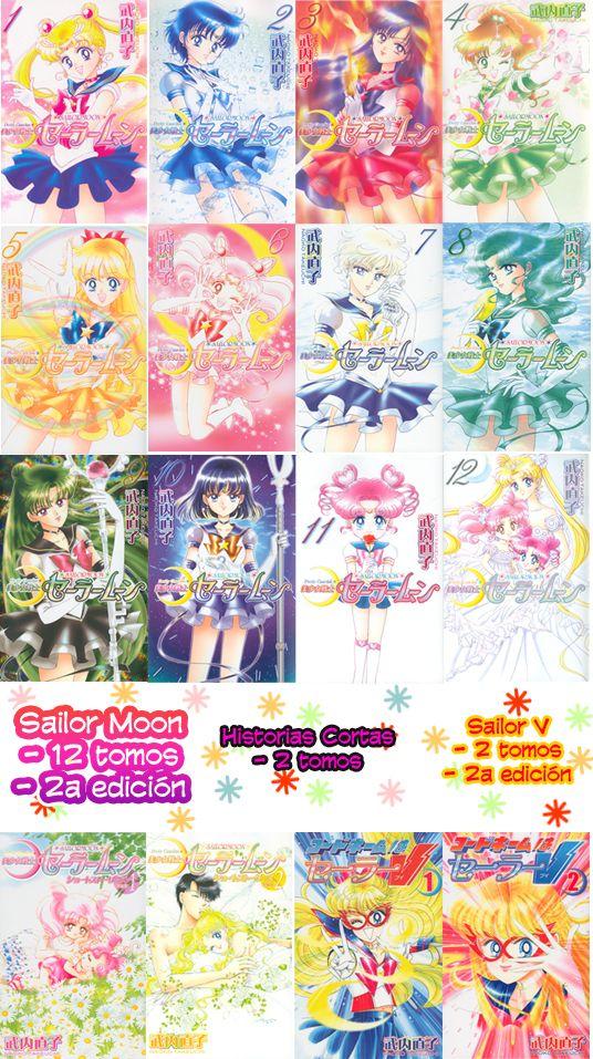 Aclaración de las versiones del Manga - Sailor Moon España