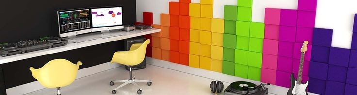 Fluffo, Fabryka Miękkich Ścian. Miękkie panele ścienne 3D, kolekcja PIXEL.
