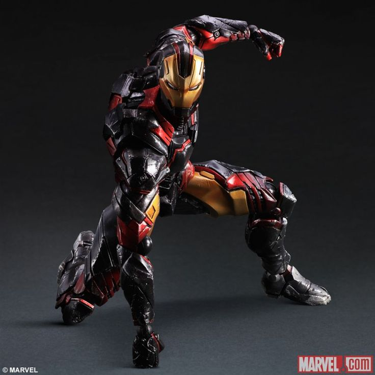 Iron Man Reimagined By Square Enix | Comicbook.com