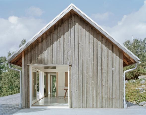 Galerie k příspěvku: moderní chalupa se sedlovou střechou | Architektura a design | ADG