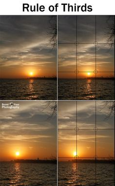 Comparison of the Rule of Thirds for Composition   Boost Your Photography
