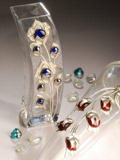 repujado de aluminio sobre vidrio