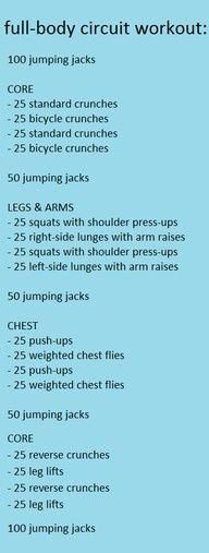 Snow day Exercise routine