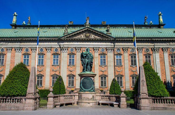 http://500px.com/photo/182783551 House of Nobility by chriswtaylor -Stockholm Sweden.. Tags: architecturebuildingbeautifulhistoryhistoricSwedenEuropeStockholmHouse of Nobility