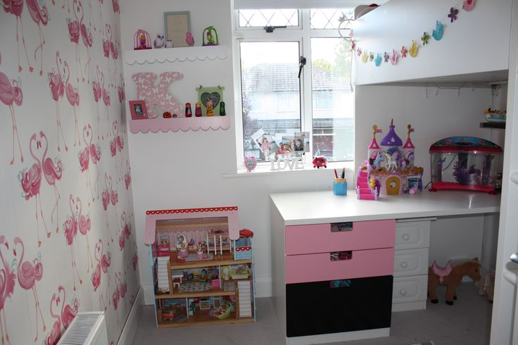 Ikea Stuva Loft Bed Laura Ashley Flamingo Wallpaper Next