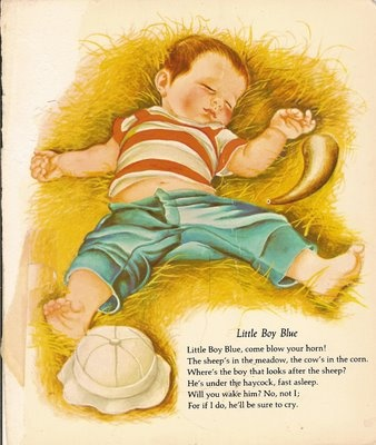 Eloise Wilkin (1904-1987). This reminds me of Alex when he was a baby, especially that chubby tummy hanging out!