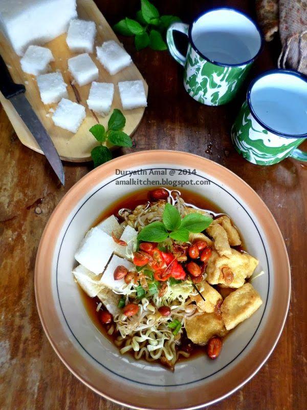 Amal's Kitchen : Simple & Easy Recipes: Ketupat Kilat & Kupat Tahu Solo (IDFB #14)