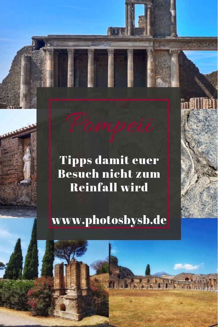 10 000 Menschen Besuchen Die Uberreste Der Antiken Stadt Pompeii Taglich Denn Die Ruinen Sind Neben Dem Vesuv Eine Der Haupt Pompeii Tipps Italien Rundreise