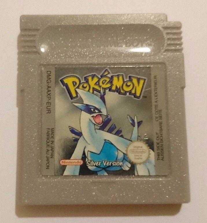 Pokemon Silver Version for Nintendo Game Boy Color TESTED