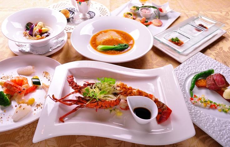 広東料理をベースとした創作中国料理の数々をご堪能ください。