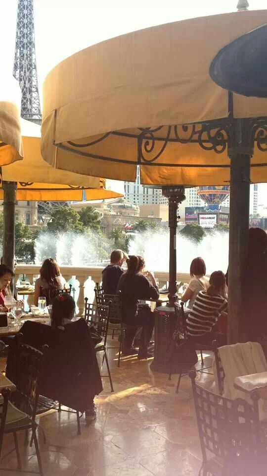 """...I think this is Vegas, but other pinners sd """"Paris Cafe"""""""
