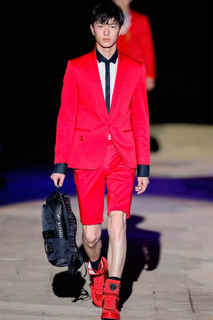Wilhelmina Models: Dachuan Jin for Philipp Plein Spring/Summer 2015 at MFW. - See more at: wilhelminanews.com