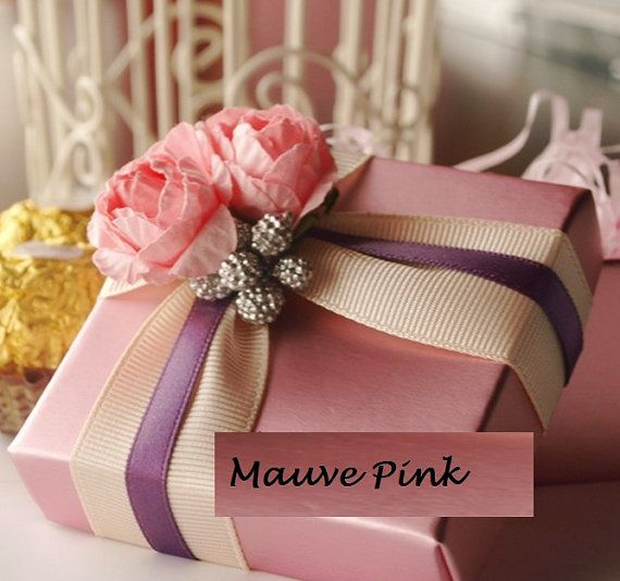 Handmade Box, Jewelry Box, Gift Box, Wedding Favors Box, Birthday Favor, Baby Shower Favor GOLD OR RUBY