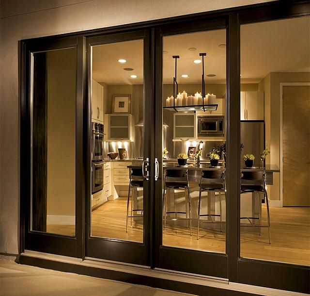 Sliding Patio Doors, Sliding Glass Door, Front Doors, Contemporary Interior  Doors, Contemporary Windows And Doors, Modern Patio Doors, Exterior French  Doors ...