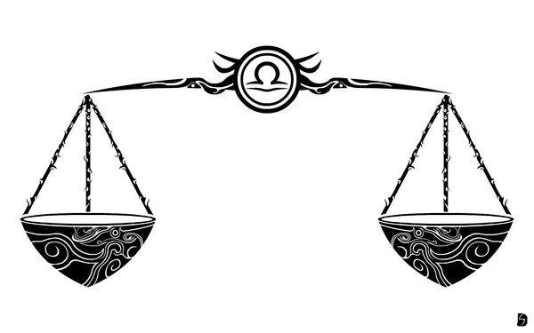 Весы знак зодиака картинки тату, картинки вязание