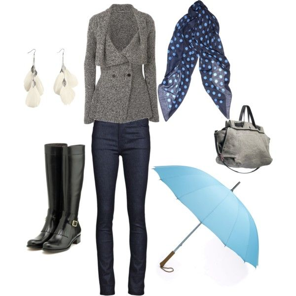Rainy Day: Rainy Day Outfits, Fall Styles, Cute Styles, Bit Silly, Rainy Days, Coat, Cutest Rainy, My Style