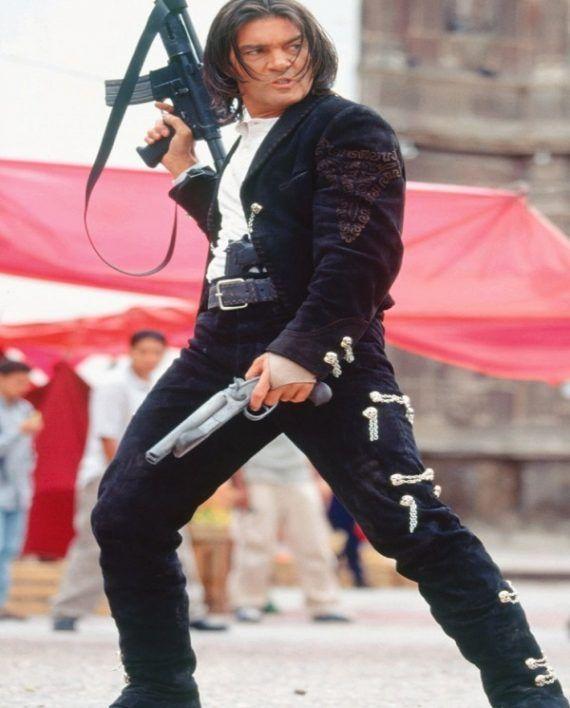 Antonio Banderas Once Upon A Time In Mexico Jacket Top Celebs Jackets Desperado Movie Quentin Tarantino Movies Actors