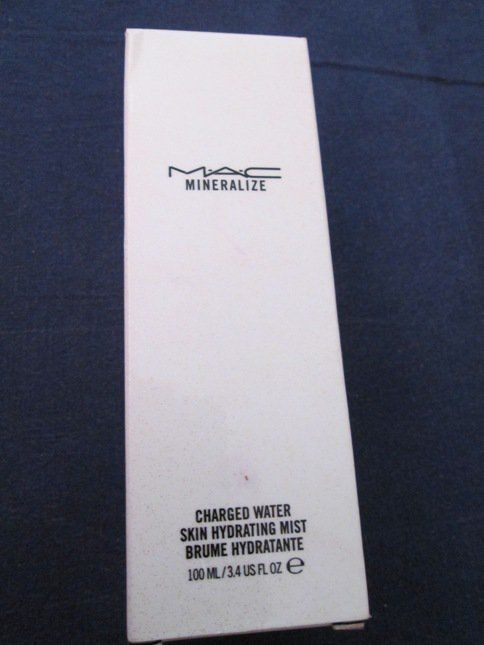 MAC Mineralize Charged Water Skin Hydrating Mist Review