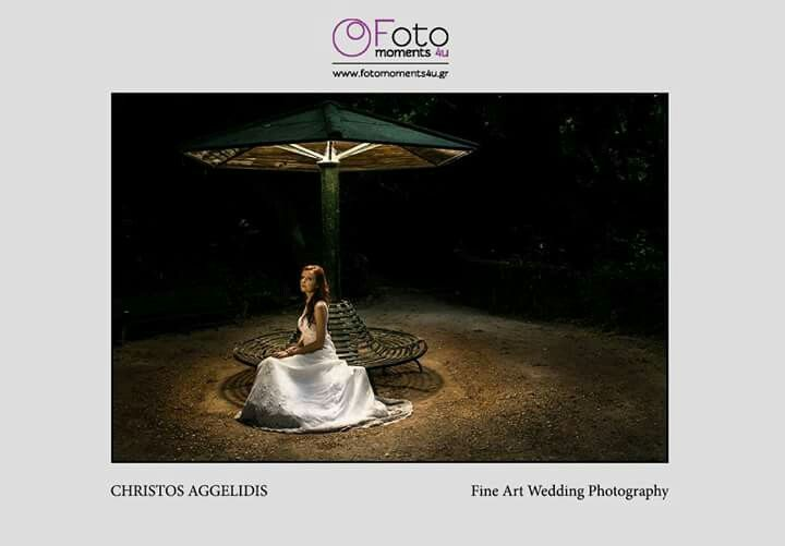 Princess in Garden #wedding by © Christos Aggelidis