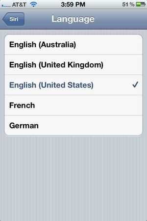 My siri is now a man with a british accent... this is awesome