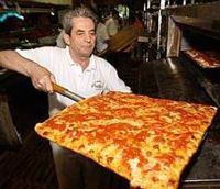"""* """"Grandma's Pizza""""....especially with an icy cold beer! *"""