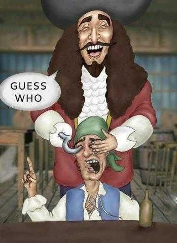Captain Hook- i dont know why this made me laugh so hard