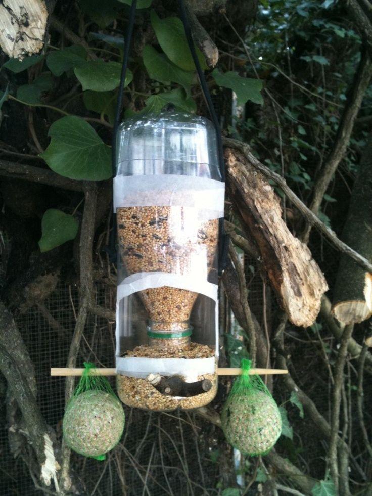 Ma mangeoire a oiseaux maison