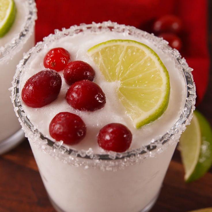 White Christmas MargaritasDelish.com
