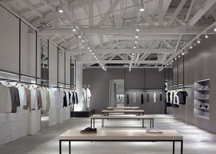Nendos Store Interiors For Theory Are Modelled On Road Systems