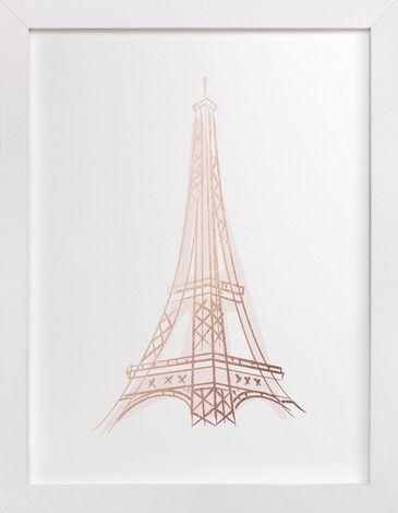 Le Tour D'Eiffel by Lori Wemple at minted.com