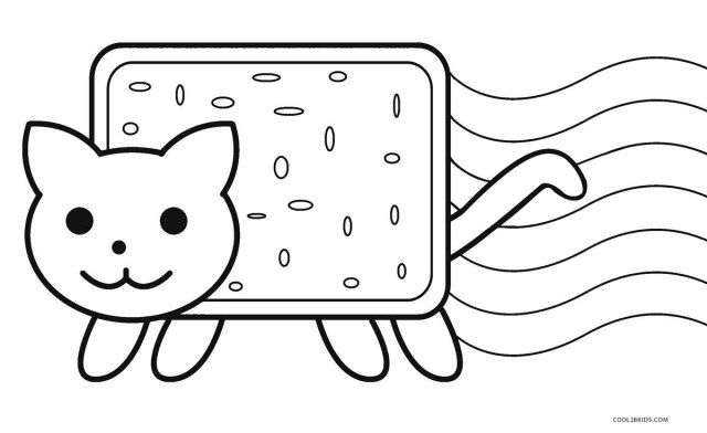Brilliant Photo of Nyan Cat Coloring Pages | Emoji ...