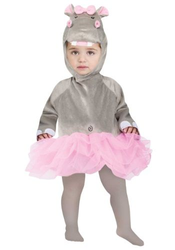 Infant Baby Hippo Costume