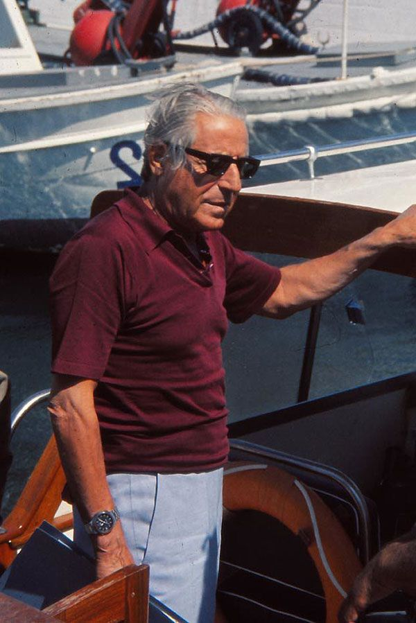 Stavros Spyros Niarchos (born in Athens on Jul. 3, 1909 – died in Zurich on Apr. 16, 1996) - multi-billionaire Greek shipping tycoon. Starting in 1952, he had the world's biggest supertankers built for his fleet. Propelled by both the Suez Crisis and an increasing demand for oil, he and rival Aristotle Onassis became giants in global petroleum shipping. Niarchos was also a noted thoroughbred horse breeder and racer, several times the leading owner and number one on the French breed list.