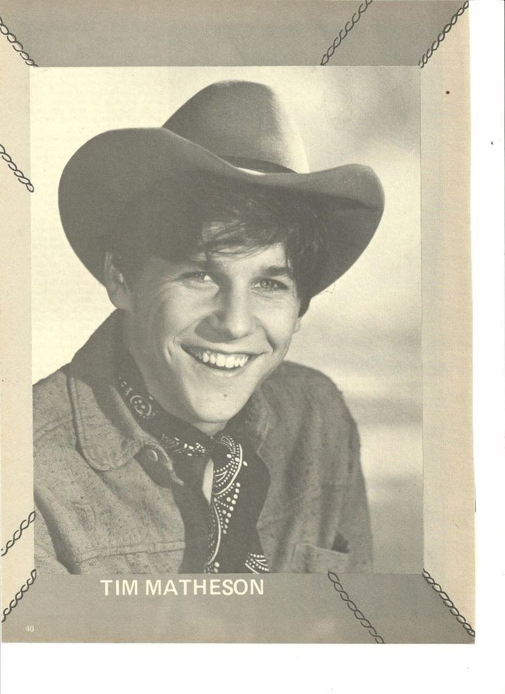 Tim Matheson, Full Page Vintage Pinup Clipping