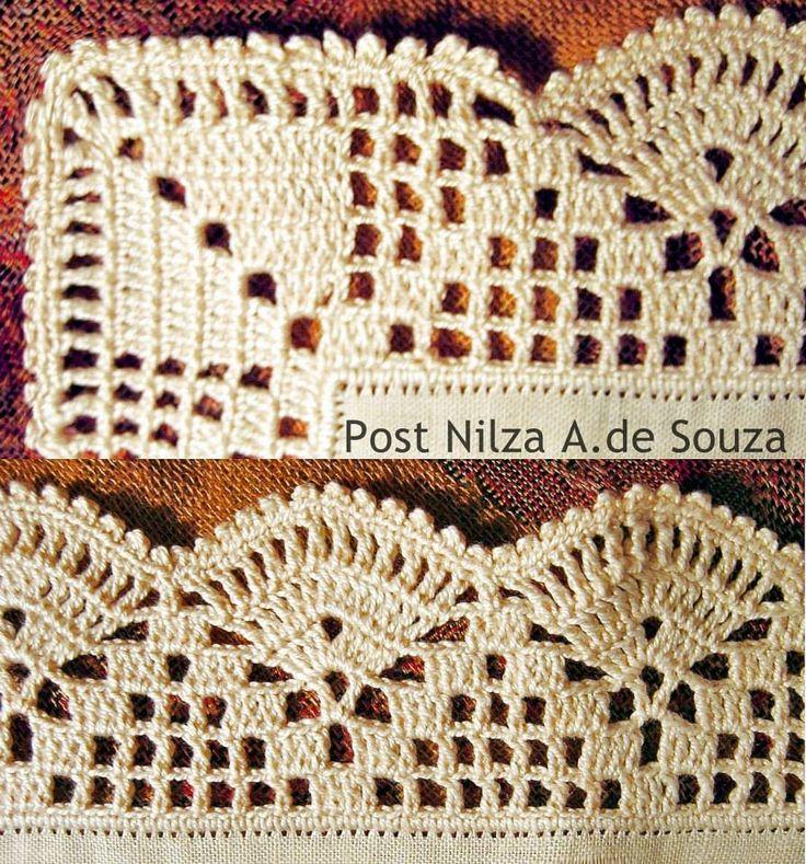 Luty Artes Crochet: barrados                                                                                                                                                      Mais