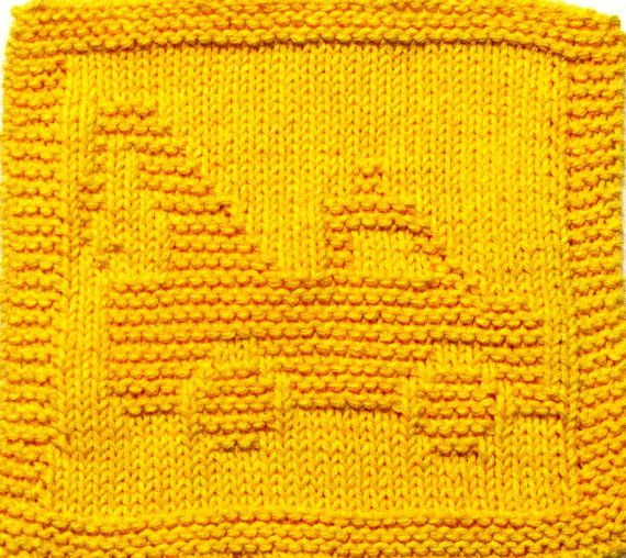 Knitting Cloth Pattern  WRECKER  PDF by ezcareknits on Etsy, $3.00