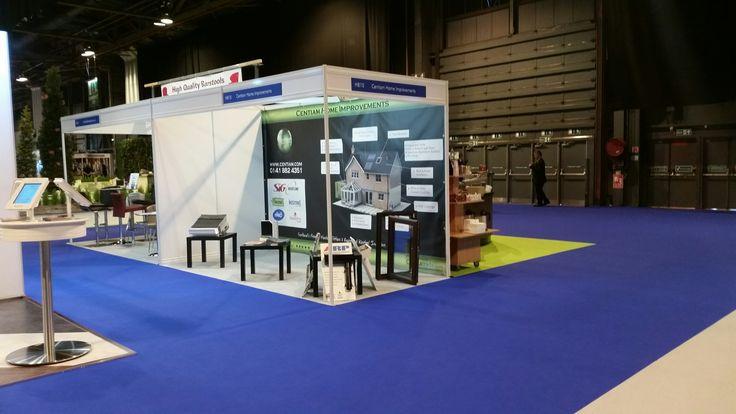the Centiam Stand @ ideal home show SECC Glasgow 2015