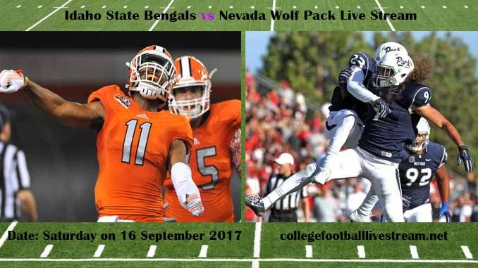 Idaho State Bengals vs Nevada Wolf Pack Live Stream Teams: Bengals vs Wolf Pack Time: 7:00 PM ET Week-3 Date: Saturday on 16 September 2017 Location: Mackay Stadium, Reno, NV TV:ESPN NETWORK Idaho State Bengals vs Nevada Wolf Pack Live Stream Watch College Football Live Streaming...