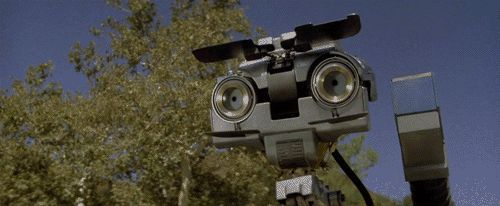 I got Johnny 5! Which Beloved Movie Robot Are You?