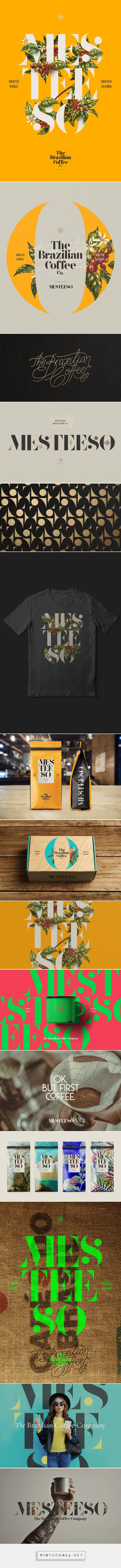 The Brazilian Coffee Co. | Mesteeso on Behance - created via https://pinthemall.net