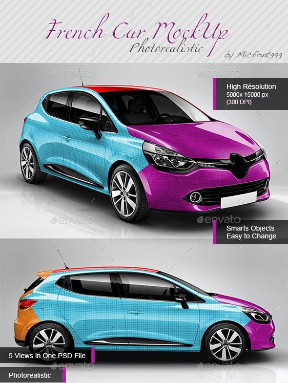 45 Car Mockup Psd For Cars Branding Wrapping Vinyl For Cars Truck Graphics Mockup